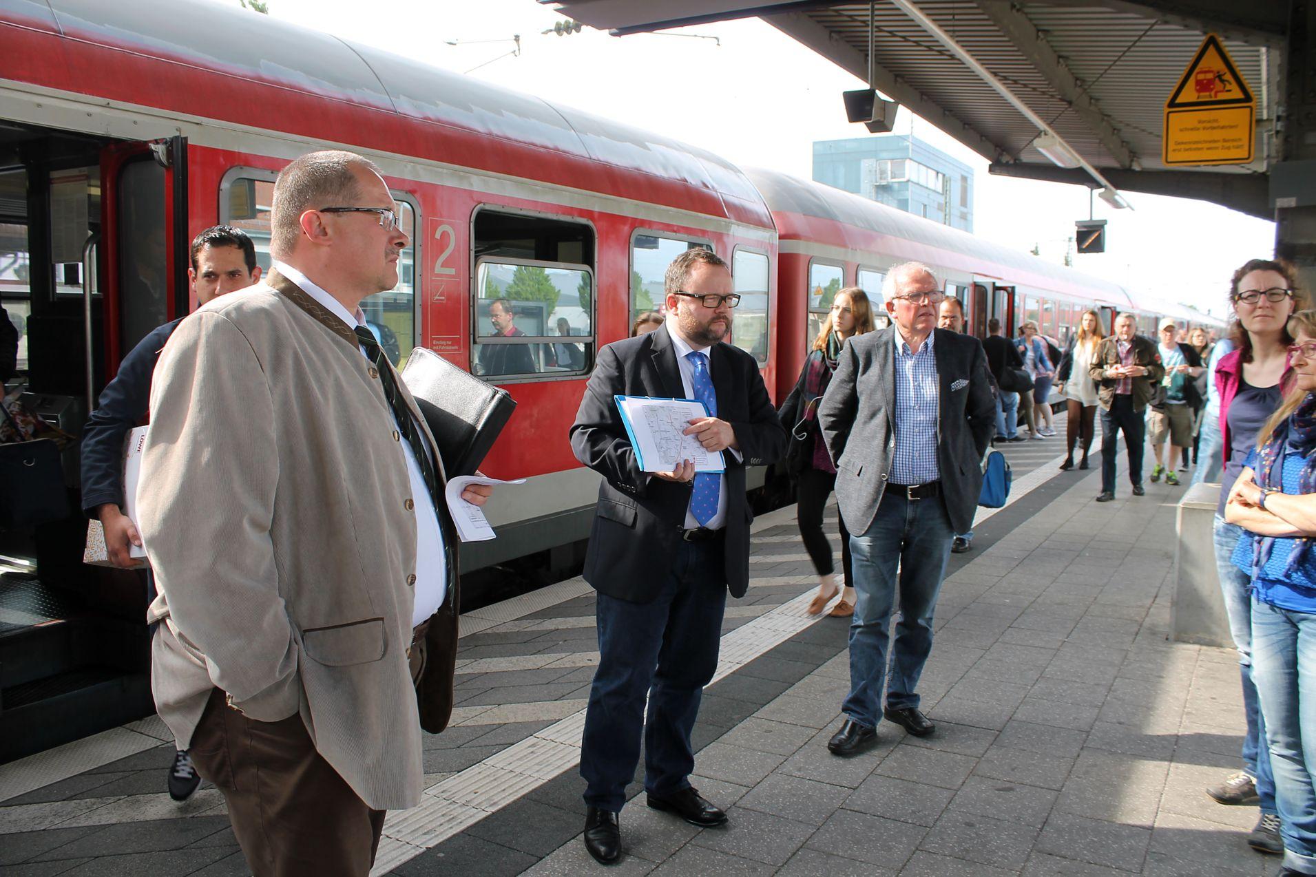 FDP Bahnhof Graben-Neudorf 3